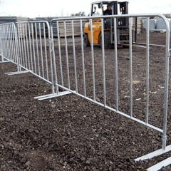 Temporary Wire Mesh Fence